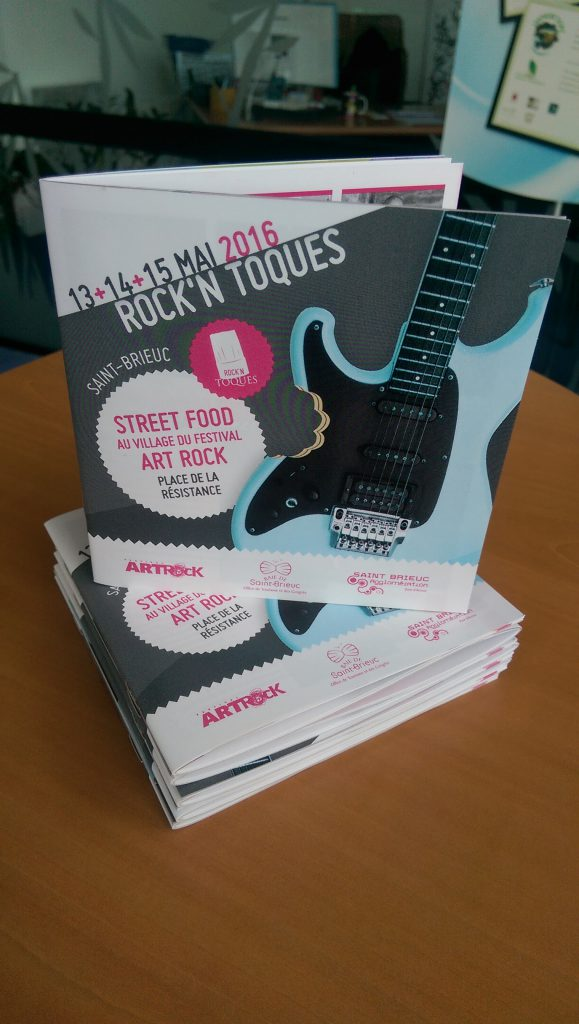 Brochure Rock'N Toques - Roudenn Grafik