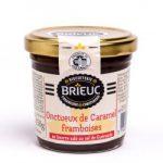 Etiquette avec vernis des confitures de la Biscuiterie Brieuc