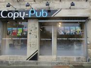 Devanture de la Boutik Guingamp Copy Pub