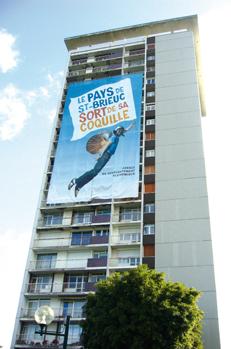 Bache Géante Saint-Brieuc - Grand format - Roudenn Grafik