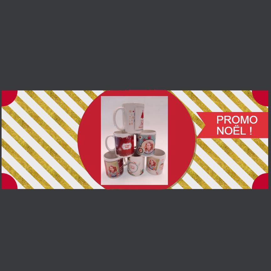 Slide Mugs personnalisés Noël - Roudenn Boutik
