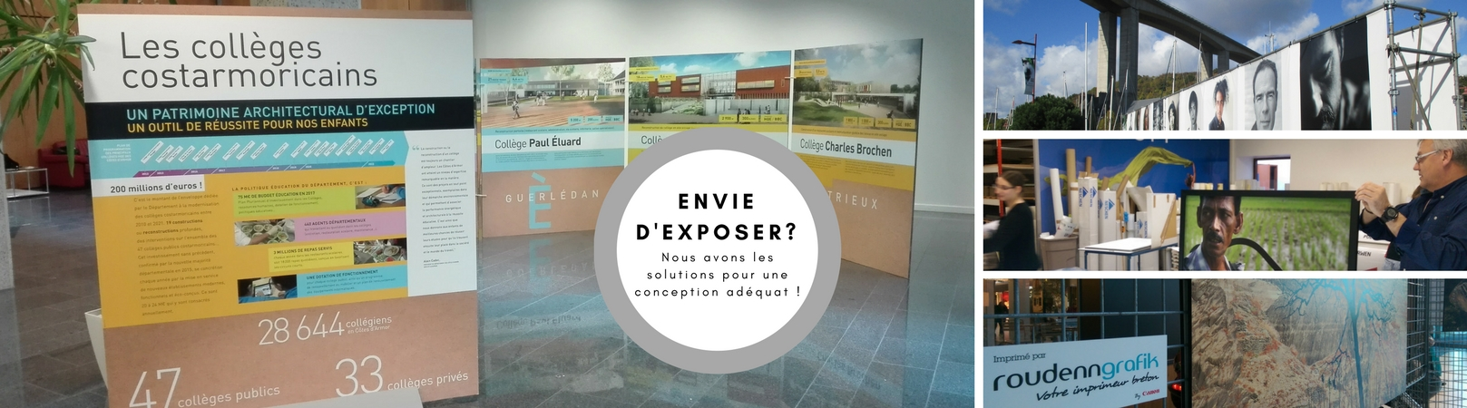 Envie d'exposer - Conception sur mesure - Roudenn Grafik