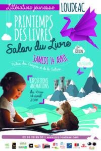 Affiche Printemps du Livre à Loudéac