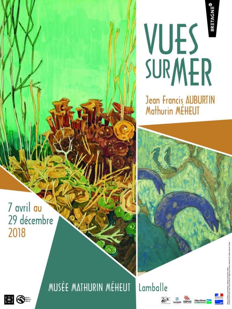 Affiche Vues sur Mers - Musée Mathurin Méheut