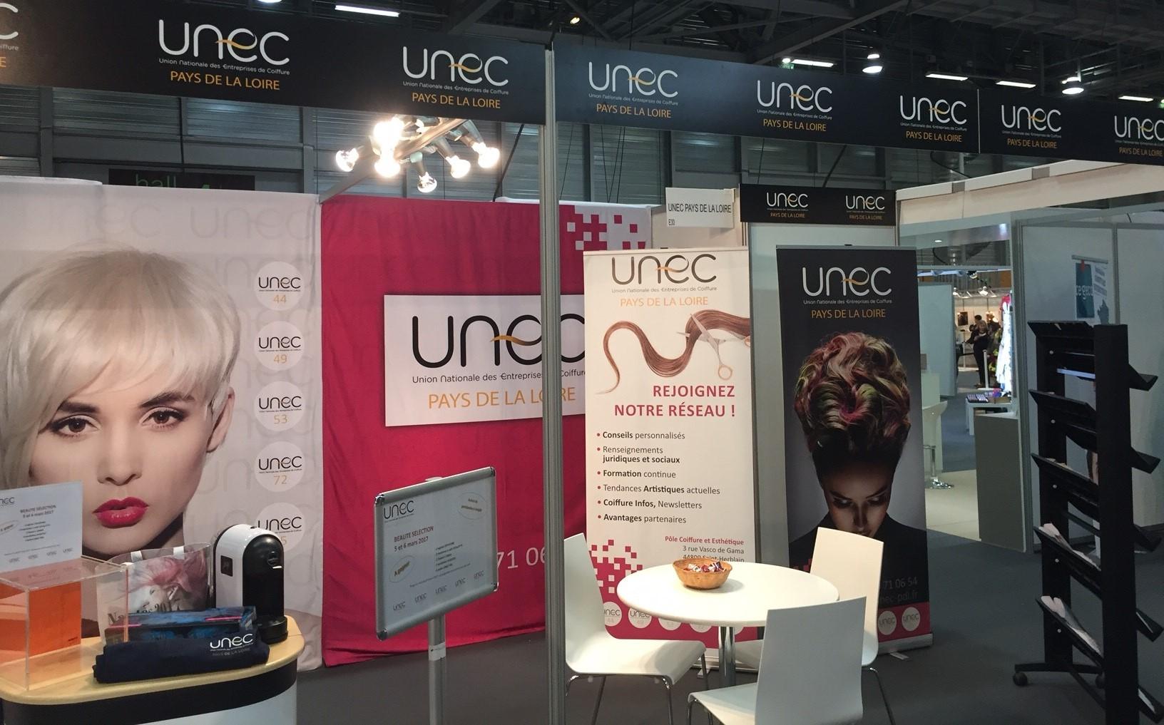 Stand de l'UNEC Pays de la Loire