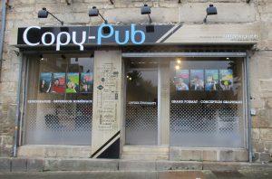 Devanture de Copy Pub Roudenn Boutik