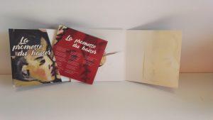 Pochette CD conçue sur mesure pour La Promesse d'un baiser de Dominique Babilotte