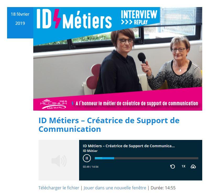 ID Métiers – Créatrice de Support de Communication Roudenn Boutik Lannion