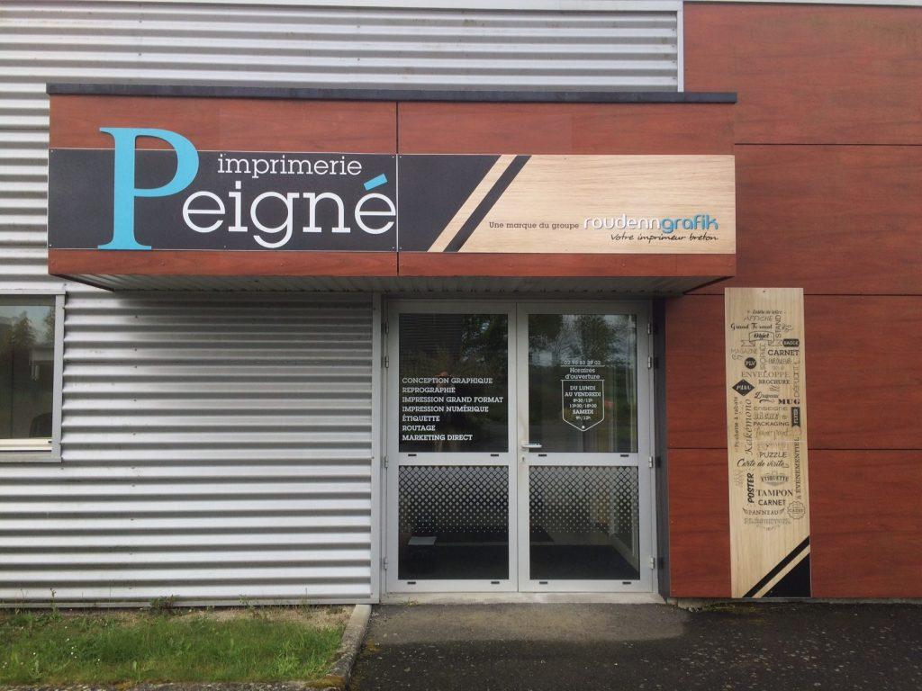 Roudenn Boutik Dinan Imprimerie Peigne