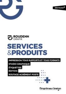 Plaquette Services et produits
